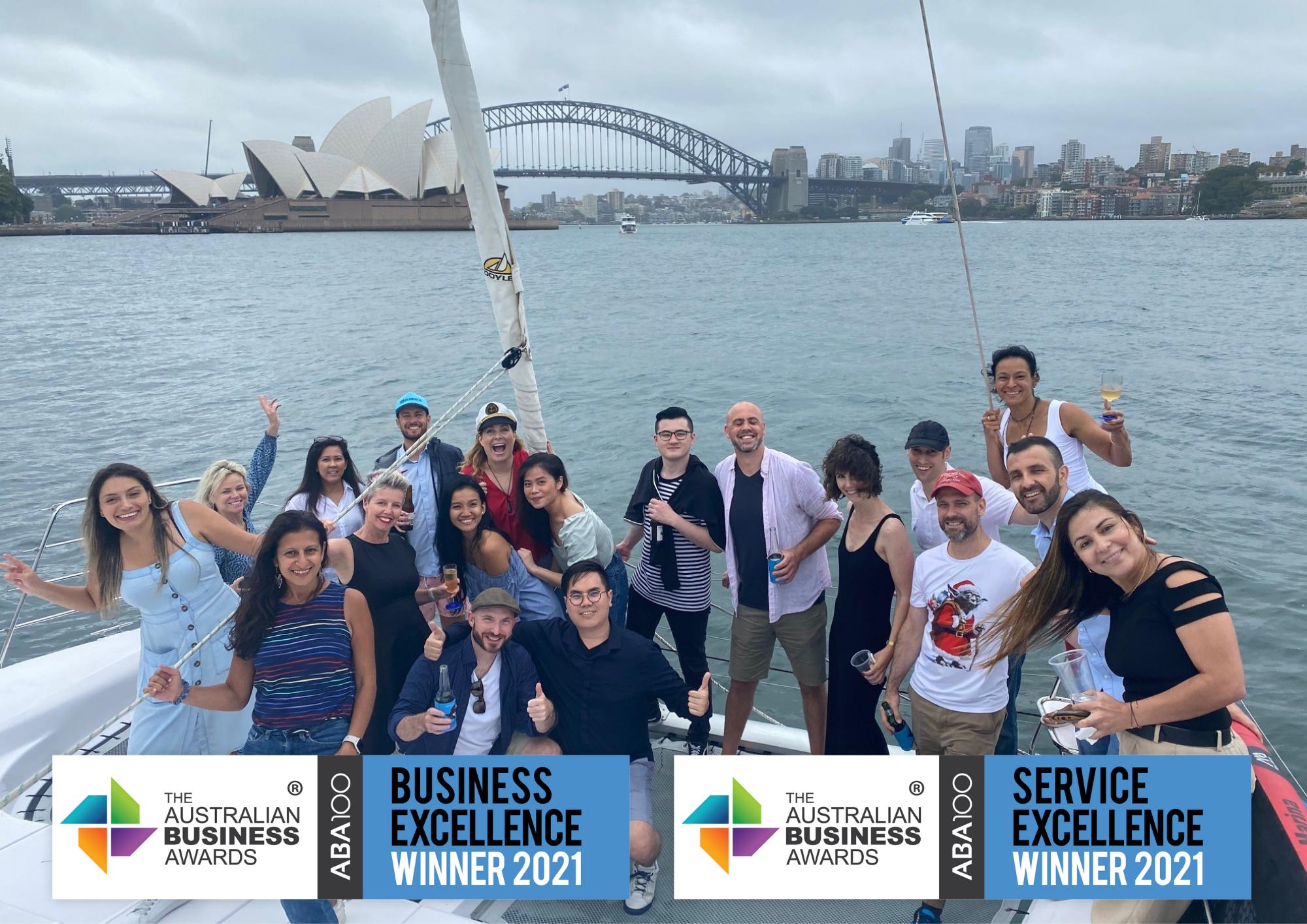 SES recognised as an ABA100 Winner in The Australian Business Awards 2021